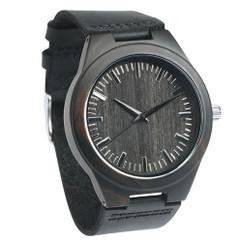 Grpn Spain - Wood Engraved Watch W#100 - Ebony