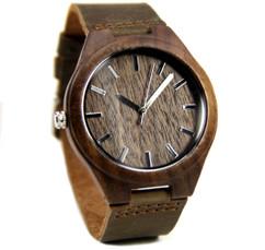 Grpn Spain - Wood Engraved Watch W#79 - Rustic