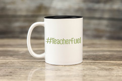 Mug - #TeacherFuel