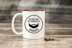 Mug - Promoted to Grandpa Beard