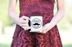 Mug - Promoted to Grandpa Mustache