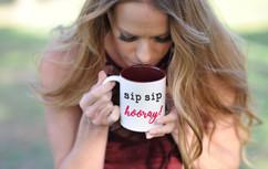 Mug - Sip Sip Hooray