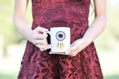 Personalized Mug - Dreamcatcher Monogram