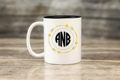 Personalized Mug - Arrow Monogram