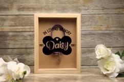 Personalized Shadow Box - In Loving Memory Pet Memento