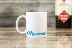 Personalized Mug - Blue Name