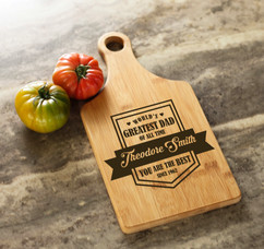 Personalized Cheeseboard - You are the Best Dad