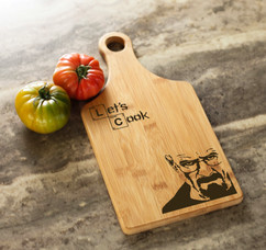 Engraved Cheeseboard - Breaking Bad Corner