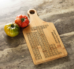 Engraved Cheeseboard - Periodic Table