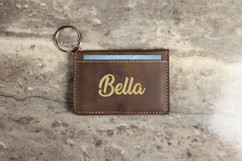 Personalized Leather Key Ring Wallet - Best
