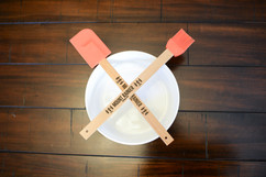 Personalized Bamboo Baking Utensil Set - National Park