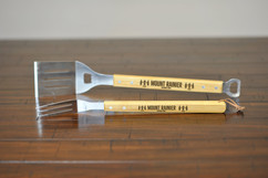 Personalized Bamboo Grilling Utensil Set - National Park