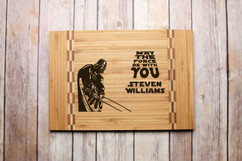Inlay Personalized Cutting Board - The Force
