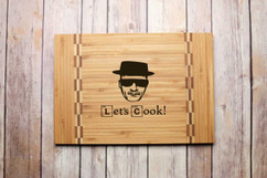 Inlay Engraved Cutting Board - Heisenberg