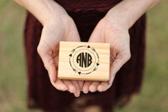Groupon AU/NZ - Personalized Jewelry Box - Arrow Monogram