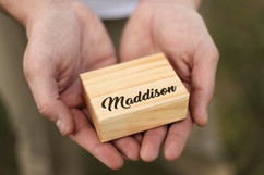 Groupon AU/NZ - Personalized Jewelry Box - Fancy Name