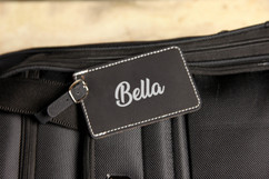 LUX - Personalized Leather Luggage Tag - Best