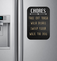 Chalkboard Sign - Chores