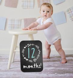 Chalkboard Sign - Months