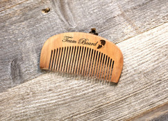 Engraved Comb - Team Beard