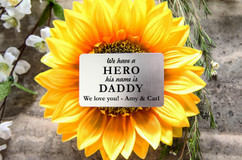 Personalized Wallet Card - Hero Daddy