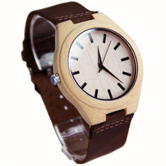 Wood Personalized Bamboo Watch W#82 - Dash