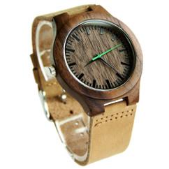 Wood Engraved Watch W#84 - Urban