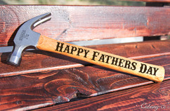 Engraved Hammer - Happy Fathers Day