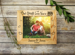 Personalized Picture Frame - Owl Always Love you