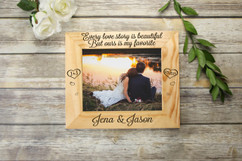 Personalized Picture Frame - Every Love Story Lavanderia