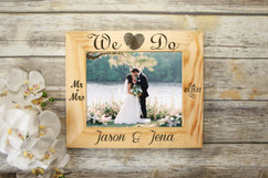 Personalized Picture Frame - We Do