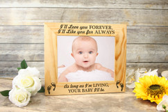 Personalized Picture Frame - My Baby 2
