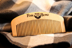 LUX - Engraved Comb - Fear The Beard