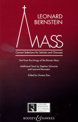 Mass - Concert selections for soloists and choruses