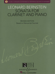 Sonata for Clarinet and Piano (with CD)
