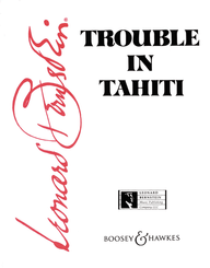 Trouble in Tahiti / Piano Vocal Score
