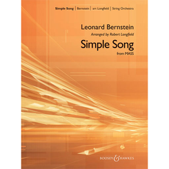 Simple Song /Mass-Arr for String Orchestra-Score&Parts