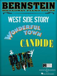 Bernstein Broadway Piano Solos-WondTown/WSS/OTT/Candide