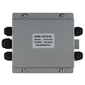 OP-416-4-M Mild Steel 4 Port Junction Box