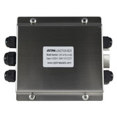 OP-416-4-S Stainless 4 Port Junction Box