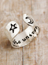 Trust the Universe Ring (1 Left)