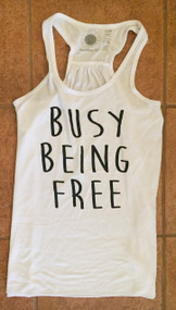Busy Being Free Tank (L Only)