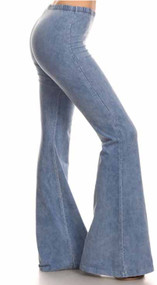 Woodstock Bells~ Light Denim (S-3X)