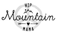 Hip Mountain Mama Peace Sign Sticker