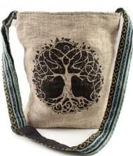 Tree of Life Hemp Bag