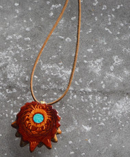 Third Eye Pinecone ~ Crushed Turquoise