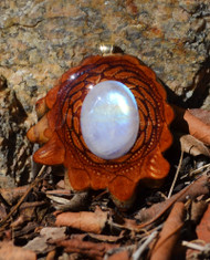 Third Eye Pinecone ~ Moonstone