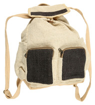 Earthy Hemp Backpack