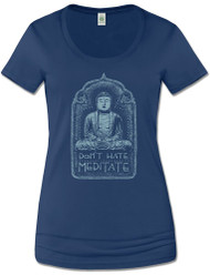 Don't Hate Meditate Tee (1 Small Left) 35% Off