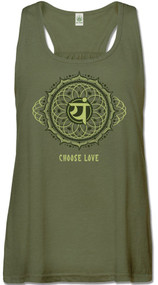 Choose Love Heart Chakra Tank (1 Small & 1 XL Left)